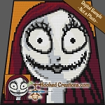 NBC-CAL: Add On Block - Sally SC (Single Crochet) Graphghan Crochet Pattern - PDF Download
