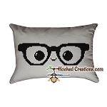 Nerd Life SC (Single Crochet) Standard Pillow Graphghan Crochet Pattern - PDF Download