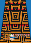 Optical Cubes C2C (Corner to Corner) Twin Blanket Graphghan Crochet Pattern - PDF Download