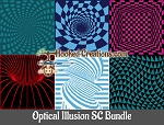 Optical Illusion SC (Single Crochet) Bundle Crochet Patterns