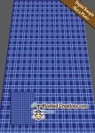 Blue Plaid C2C (Corner to Corner) Twin Blanket Graphghan Crochet Pattern - PDF Download