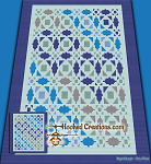 Quilted Hearts C2C (Corner to Corner) King Blanket Graphghan Crochet Pattern - PDF Download
