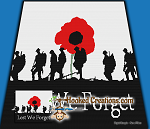Remembrance Sunday SC (Single Crochet) Throw Blanket Graphghan Crochet Pattern - PDF Download