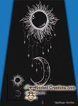 Sparkling Sun and Moon SC (Single Crochet) Twin Blanket Graphghan Crochet Pattern - PDF Download