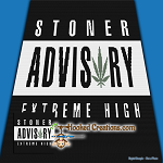 Stoner Advisory SC (Single Crochet) Throw Sized Blanket Graphghan Crochet Pattern - PDF Download