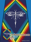 Tribal Dragonfly SC (Single Crochet) Twin Sized Blanket Graphghan Crochet Pattern - PDF Download