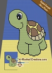 Turtle Beach C2C (Corner to Corner) Twin Sized Graphghan Crochet Pattern - PDF Download