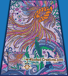 Underwater Wonderland SC (Single Crochet) Queen Blanket Graphghan Crochet Pattern - PDF Download