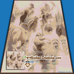 Welcome to the Forest SC (Single Crochet) Throw Blanket Graphghan Crochet Pattern - PDF Download