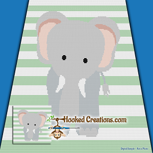 Elephant Lovey Security Blanket Crochet Elephant Baby | Etsy | 300x300