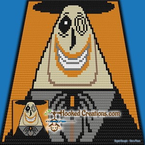 NBC-CAL: Add On Block - Mayor SC (Single Crochet) Graphghan Crochet Pattern - PDF Download
