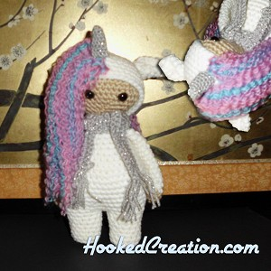Lil Unicorn Crochet Pattern - Amigurumi - PDF Download