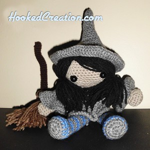 Little Witch Crochet Pattern - Amigurumi - PDF Download